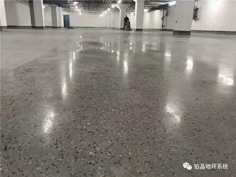concrete floor grinding polishing