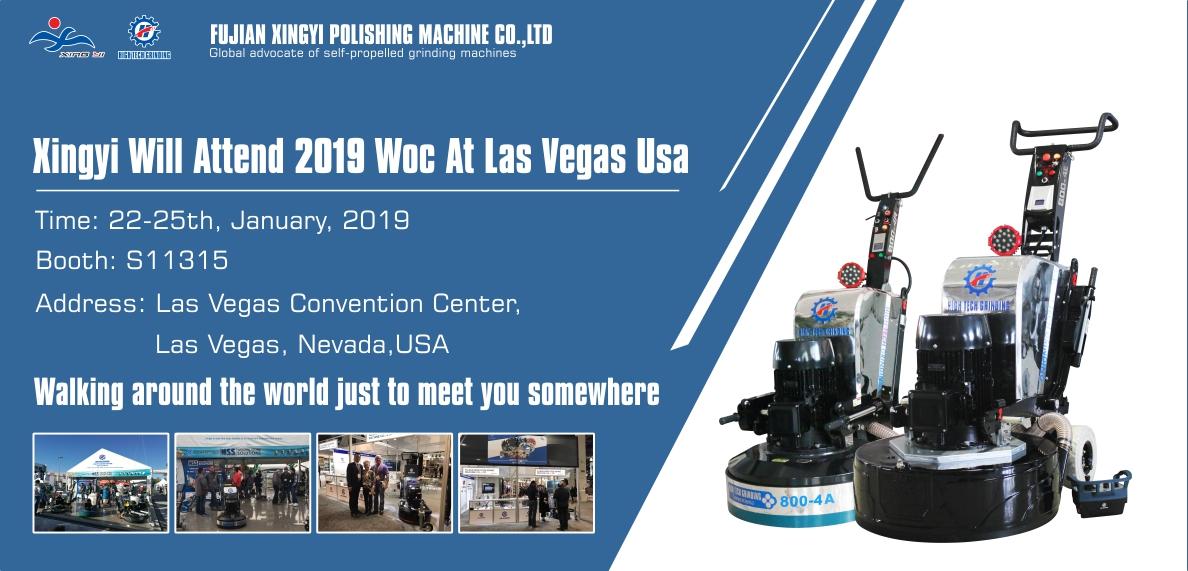 Xingyi Will Attend 2019 WOC At Las Vegas USA