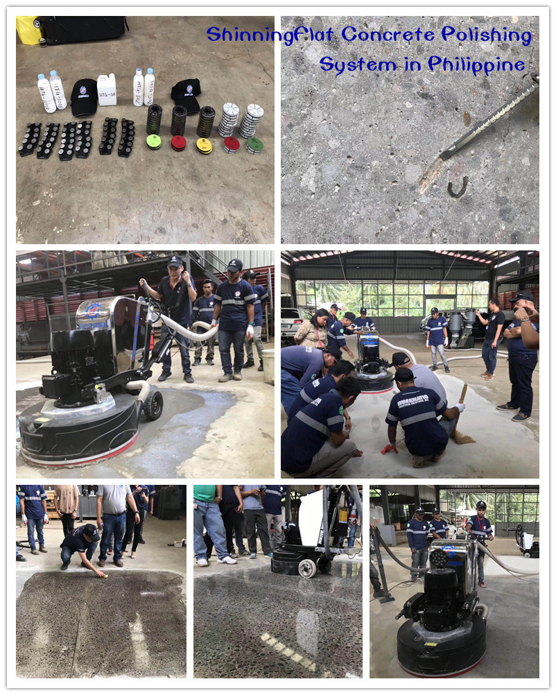 concrete floor grinding and polishing in Philippine