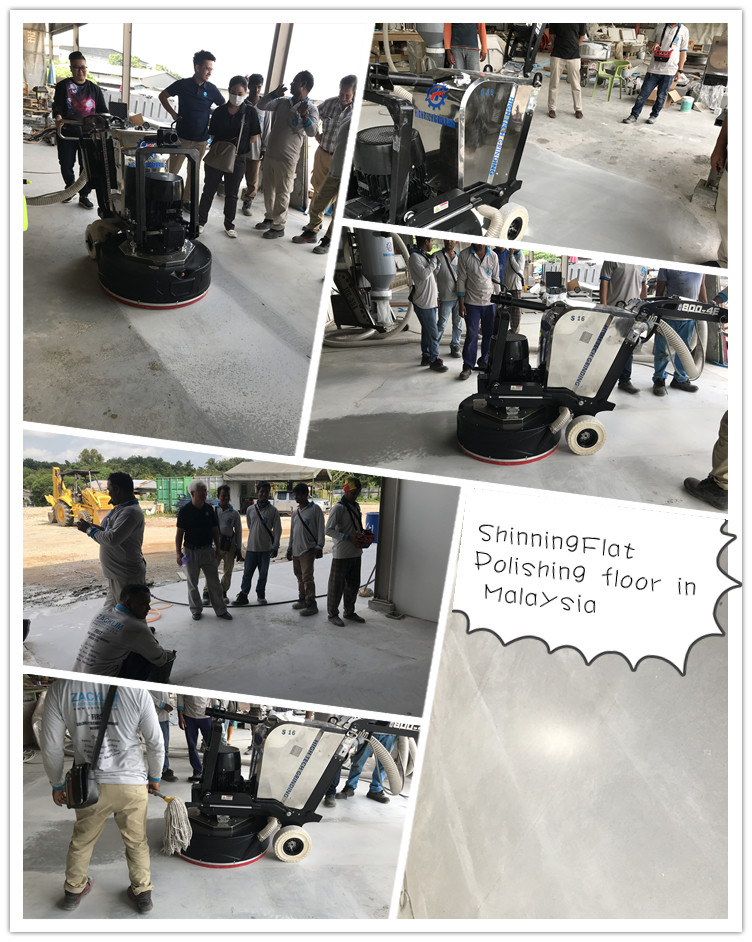 concrete floor grinding and polishing in Malaysia