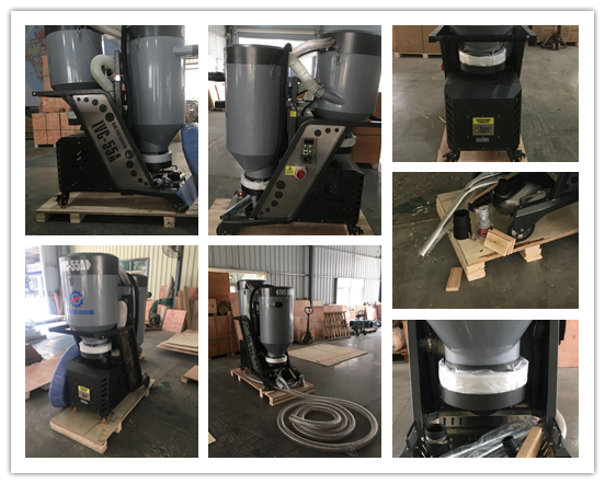 Package of industrial vacuum cleaner IVC-55A