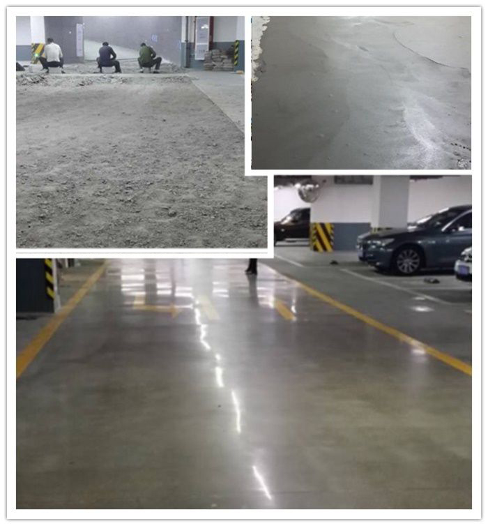 Polymer mortar method:to repair damaged garage or undergroud parking lot