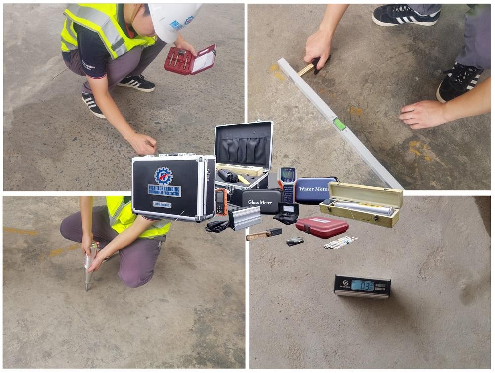 concrete floor prep,concrete floor testing equipment,mohs testing pen
