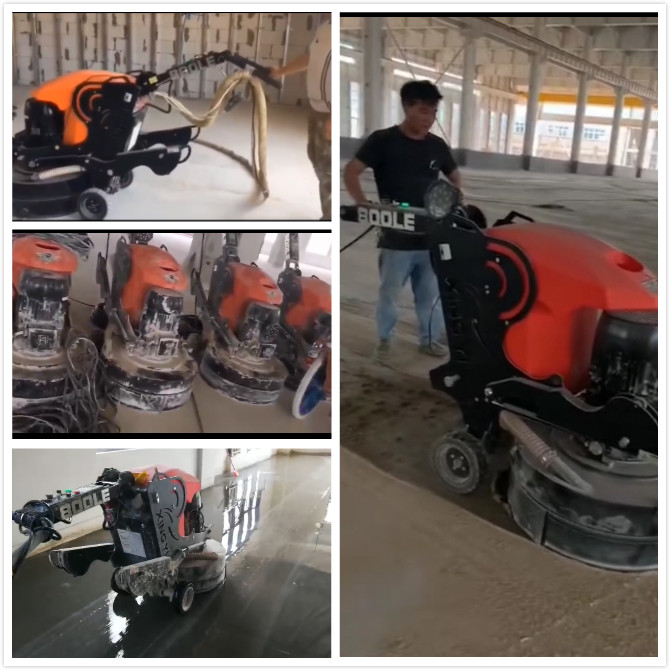 High-powered Concrete Polisher