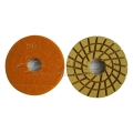 flexible wet granite polishing pads