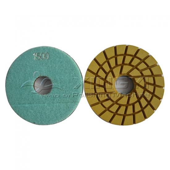 Wet Polishing Pads For Granite Polishing Flexible Marble