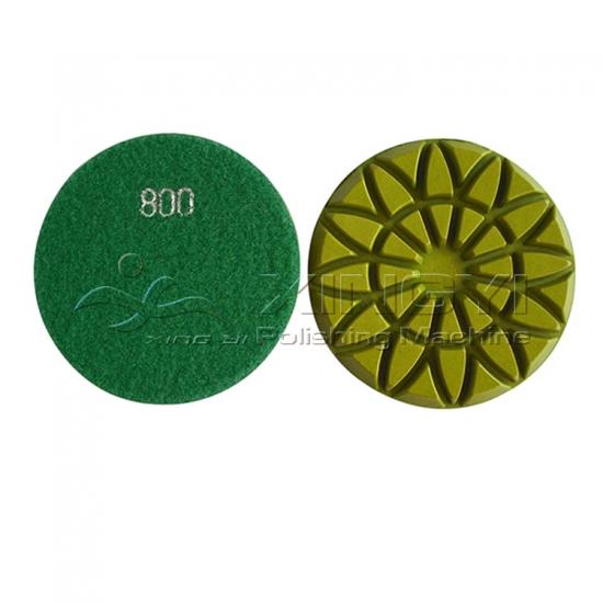 Wholesale Fiber Resin Stone Floor Polishing Pad Fiber