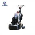Concrete polishing machinery