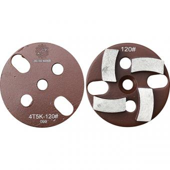 10mm diamond concrete grinding plate