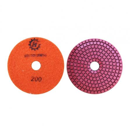 4inch high quality concrete rein polishing pads for  concrete and stone