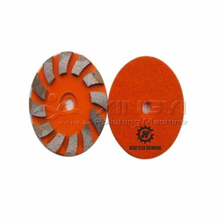 diamond metal grinding pad tool