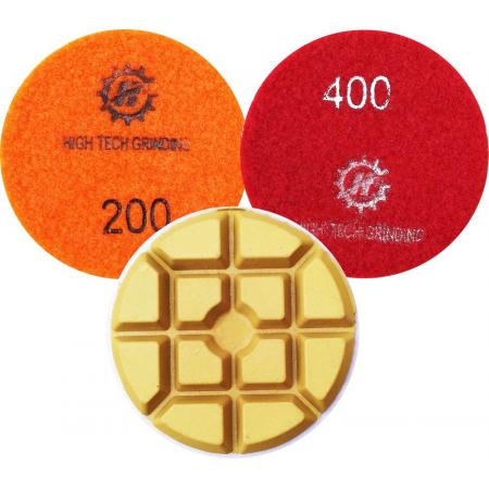 ceramic wet granite polishing pads