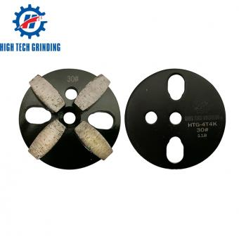 Four Diamond Segment Concrete Grinding Pad