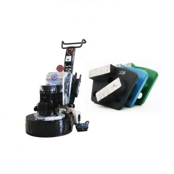 epoxy floor remote control grinding machine 800-4E
