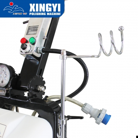 concrete floor polishing machine
