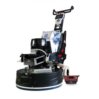 Semi-automatic remote control floor grinding and polishing machine