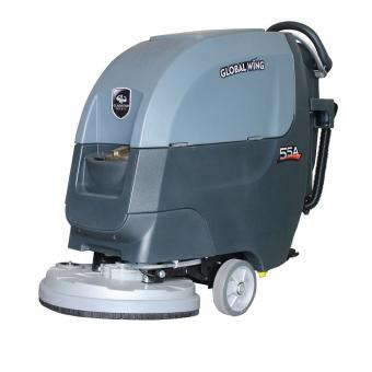 walk behind floor sweeper scrubber