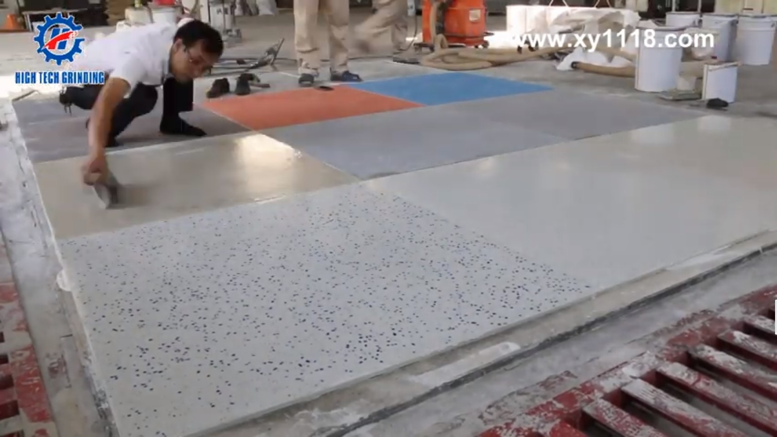 the process of xingyi tank stone system