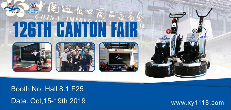 Meet you at 126th Canton Fair on Oct,15-19th 2019