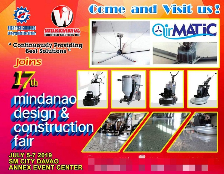 xingyi attend the 17th Mindanao Design&Construction Fair on 5-7th July