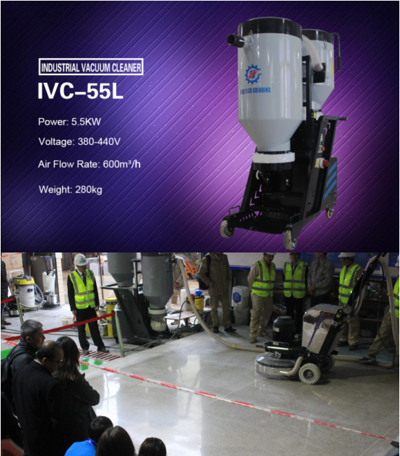 Updated Industrial Vacuum Cleaner IVC-550L