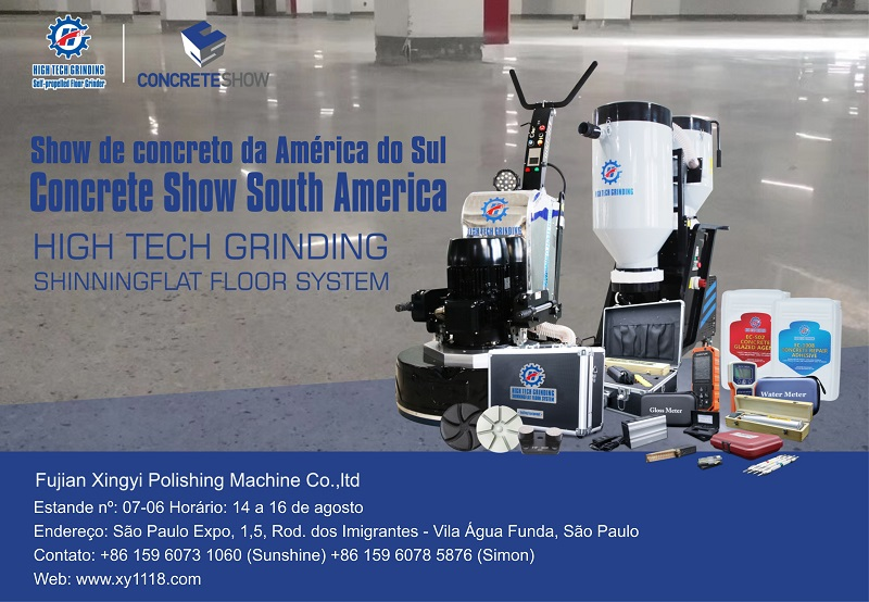 Concrete Show South America on 14-16,August